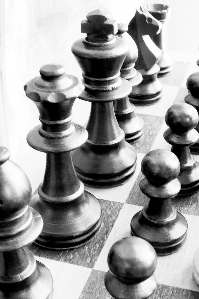 chess, chess board, chess pieces